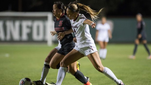 Stanford was shockingly eliminated by Santa Clara in the second round of the 2016 NCAA tournament. (photo courtesy of Stanford University)