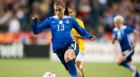 Alex Morgan to play first half of 2017 with Lyon