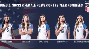 US Soccer reveals Player of the Year nominees