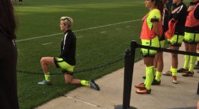 XI WoSo Moments of 2016: Megan Rapinoe takes a knee