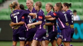 Sam Kerr leads Perth Glory over Melbourne City, to top of table