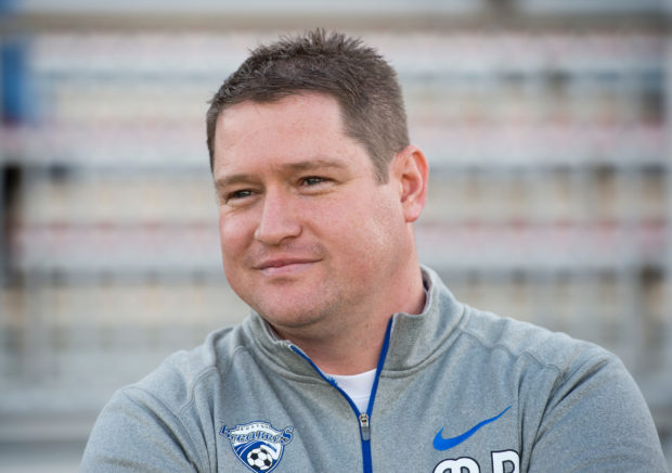 Breakers' coach Matt Beard now holds four 1st round picks in next week's NWSL Draft (photo credit: ISI Photos)