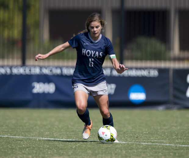 After a two-year stint at Man City, Daphne Corboz is coming home to New Jersey. (photo courtesy ISI Photos)