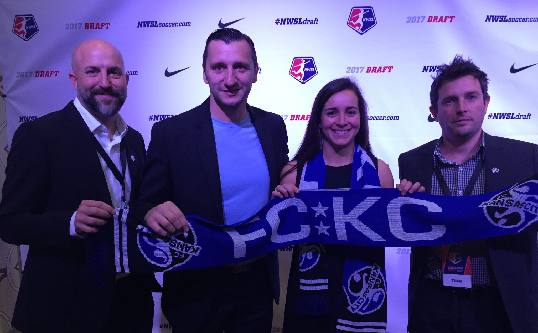 Christina Gibbons was not highly rated out of high school. Four years later she was a 1st Round pick in NWSL