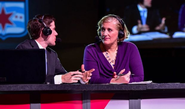 Jen Cooper repeats as analyst for the 2017 NWSL College Draft. (photo courtesy )