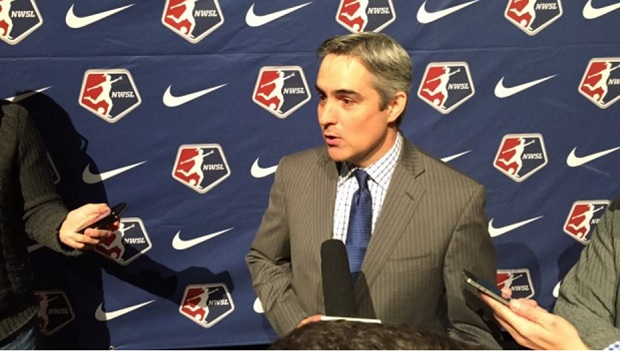 Jeff Plush addressed rumors of an NWSL expansion team in Vancouver. (photo copywright Jeff Kassouf for The Equalizer)