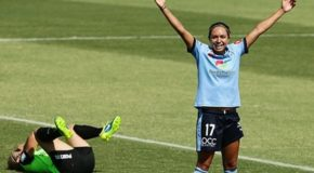 Sydney FC scores six against Canberra to extend lead at top of the table