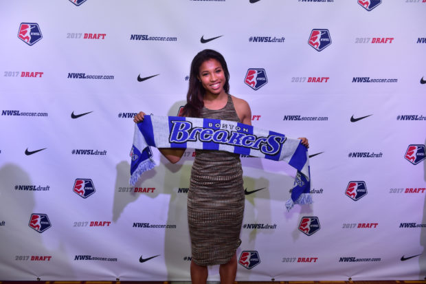 Margaret Purce got an Ivy League education at Harvard and also became a 1st round pick in NWSL.