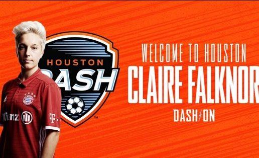 Houston Dash sign defender Claire Falknor