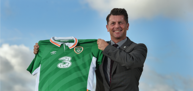 New Ireland coach Colin Bell will make his bench debut at the Cyprus Cup (photo: Football Association of Ireland)