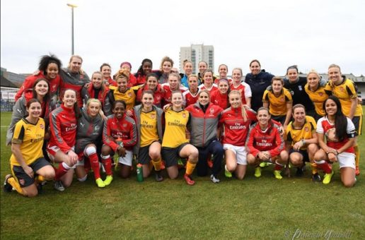 Kelly Smith leaves Arsenal in style
