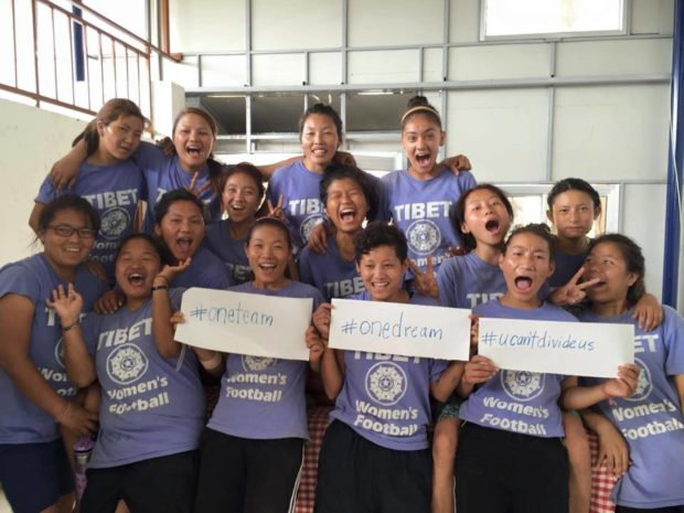 Tibet Women's Soccer spent about half their budget for the year to apply for Visas the United States eventually turned down (photo: tibetwomenssoccer.org)