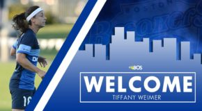 Boston Breakers add Tiffany Weimer