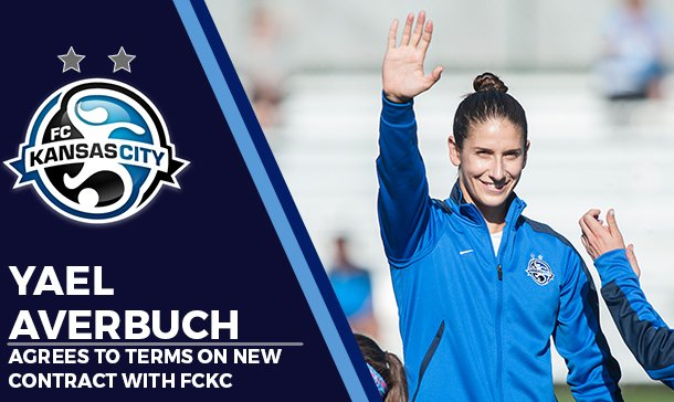 Yael Averbuch is heading for her third season in Kansas City.