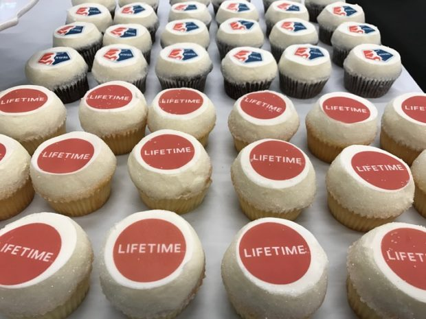 There were cupcakes at the media event that joined NWSL with A+E. There has been radio silence ever since. (Photo by MEG LINEHAN)