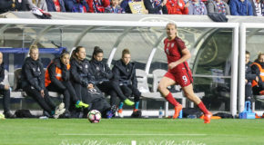 Horan joins Brian on sidelines for USWNT camp