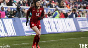 Rose Lavelle outshines the competition in USWNT debut