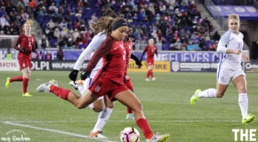 Mallory Pugh signs with U.S. Soccer, play for Spirit