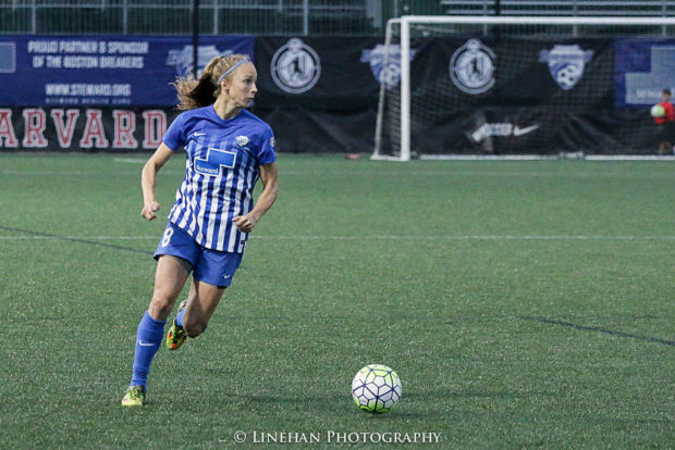 By our projected linedup, Julie King will be the only returning Breaker starting on the back line (photo copyright Linehan Photography for The Equalizer)