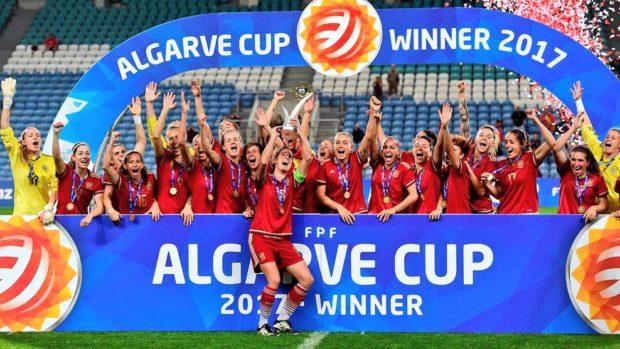 Spain win Algarve
