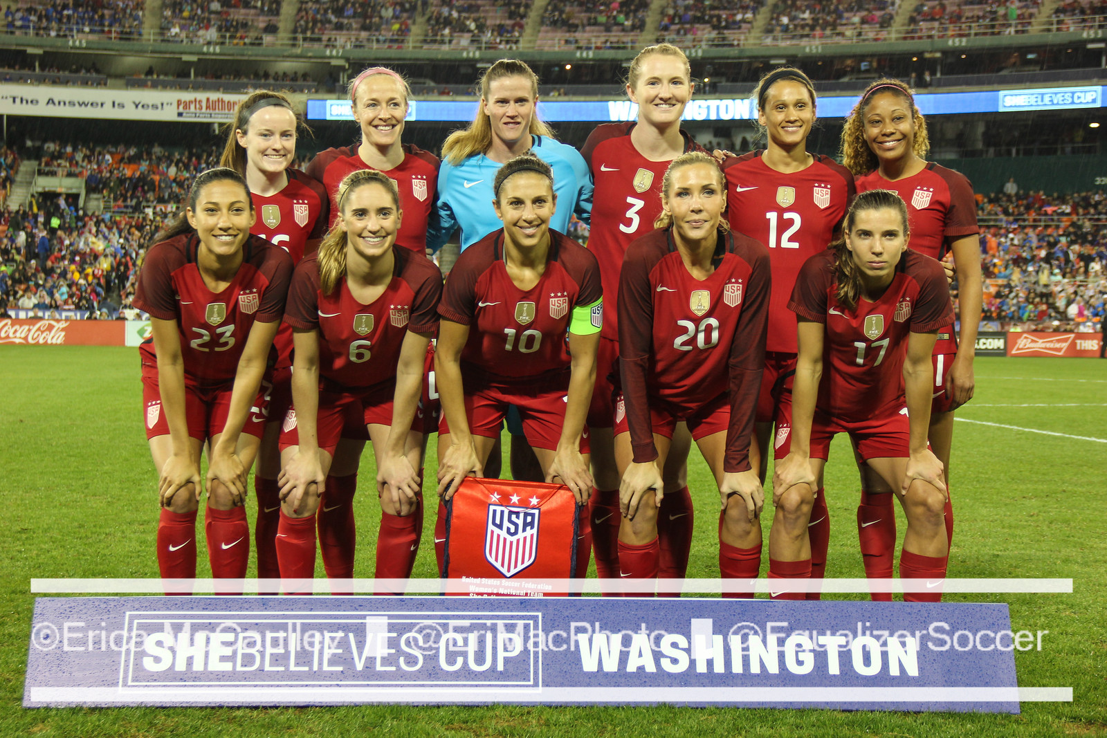 USA lineup v France SBC