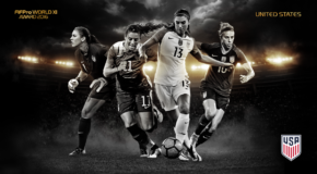 Lloyd leads four Americans on FIFPro Women's World XI