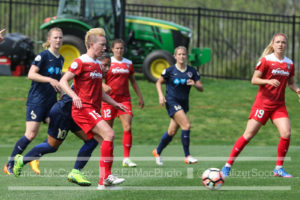 Joanna Lohman suffered a torn ACL in the Spirit's home opener. (photo copyright EriMac Photo for The Equalizer)