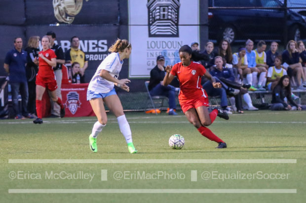 With ?? of ?? goals from 2016 gone, Cheyna Williams will be called on to up her productivity in 2017. (photo copyright EriMac Photo for The Equalizer)
