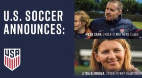 Friday Roundup: US Soccer names U-20, U-17 head coaches