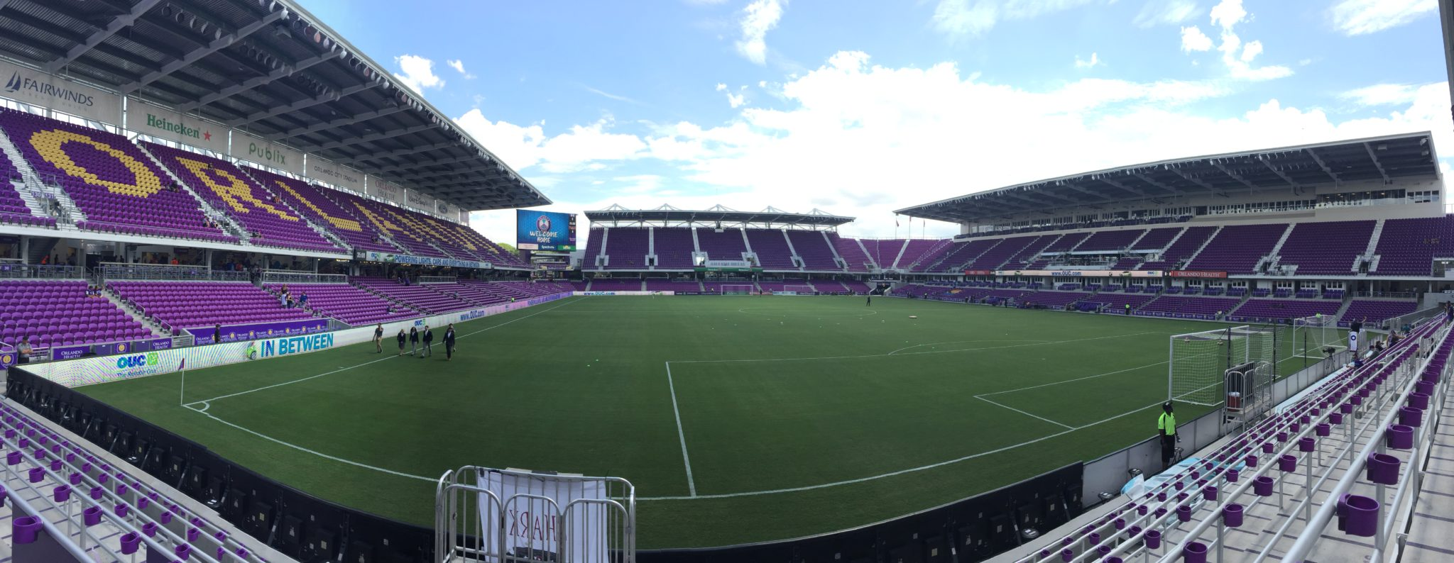 Orlando Pride had eight game times changed by the league. (photo by Allison Lee)