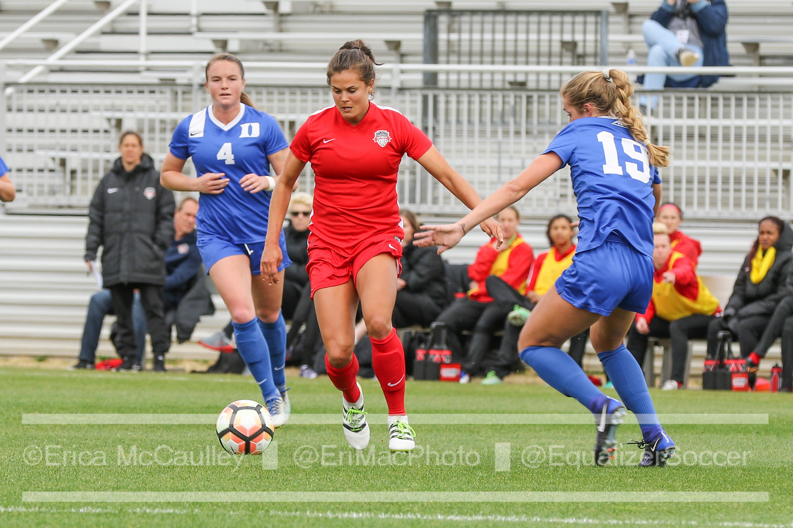 Katie Stengel was claimed off waivers by the Boston Breakers. (photo copyright EriMac Photo for The Equalizer)