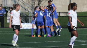 Dowie, Lavelle lead Breakers to home opener win over Sky Blue