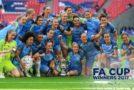 Lloyd, back at Wembley, helps Man City win FA Cup