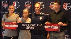 Washington Spirit welcomes Mallory Pugh
