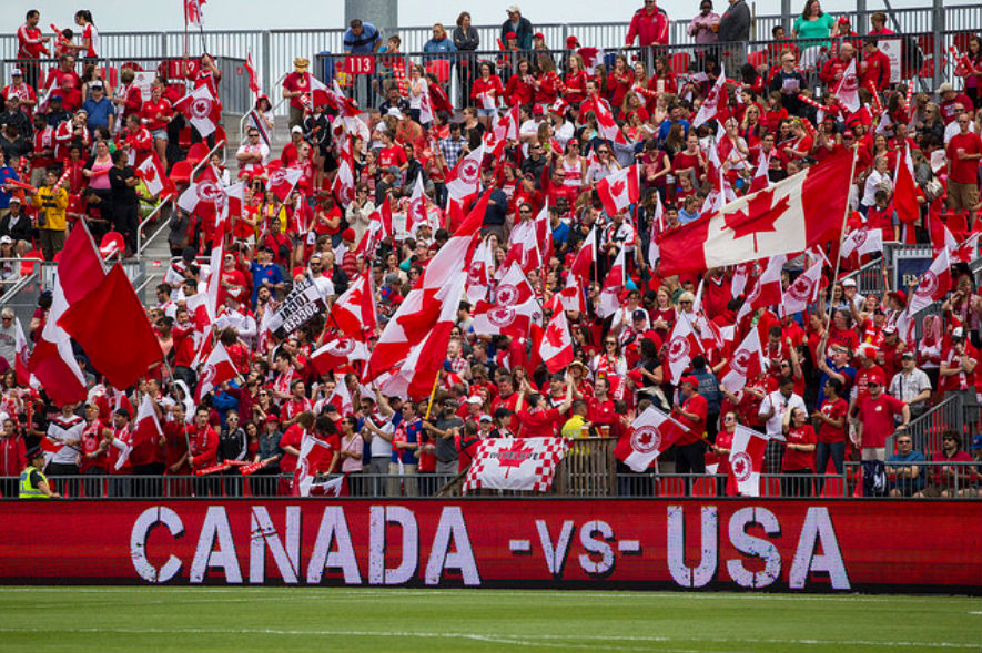 Two of the fiercest rivals will meet in a pair of friendlies this November. (photo courtesy Canada Soccer)