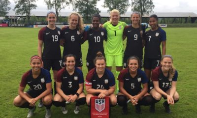 The U.S. U-23 national team finished second to England in the Nordic Tournament. (photo courtesy U.S. Soccer)