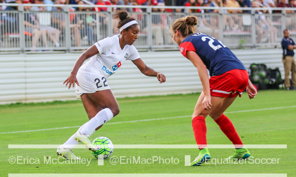 Brianne Reed is headed to Sweden's Damallsvenskan league. (photo copyright EriMac Photo for The Equalizer)