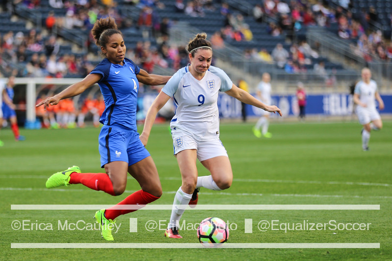 England hasn't beaten France since 1974, but that could all change this afternoon. (photo copyright EriMac Photo for The Equalizer)