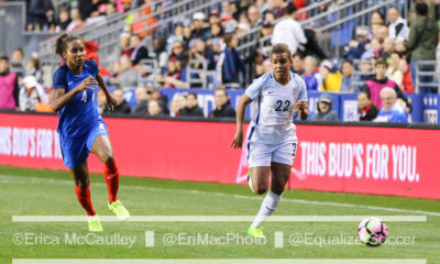 Nikita Parris scored the game winner to send England to the EURO 2017 quarterfinal round against France. (photo copyright EriMac Photo for The Equalizer)
