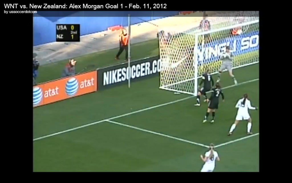 Alex Morgan goal v. New Zealand
