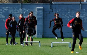 Amanda DaCosta_Liverpool training