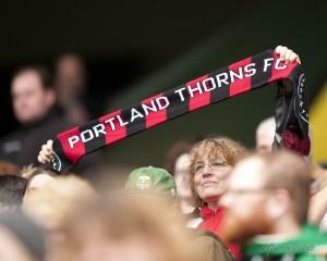 Portland Thorns FC fan