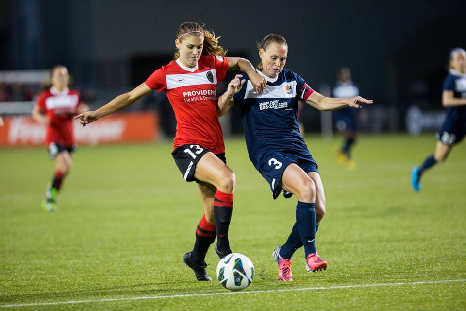 Alex Morgan-Christie Rampone