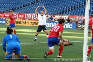 Kristie Mewis first international USWNT goal