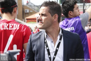 Canada coach John Herdman. (Photo copyright Meg Linehan for The Equalizer)