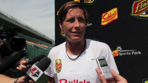 Abby Wambach announced she will not play this NWSL season. (Photo Copyright Meg Linehan for The Equalizer)