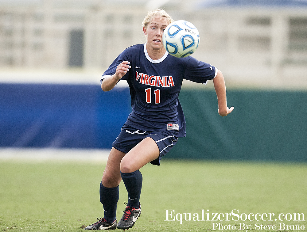 The UVA alum scored her first NWSL this past weekend for FC Kansas City in Seattle.