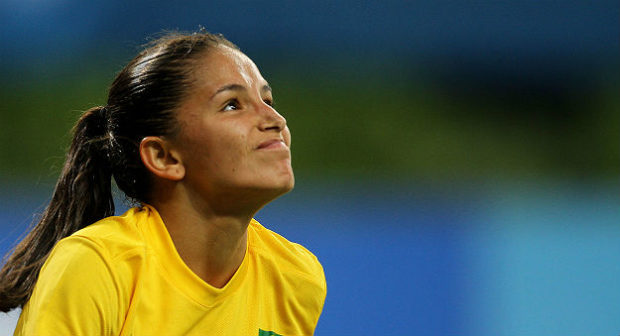 Brazilian forward Debinha has signed with the Western New York Flash of the NWSL