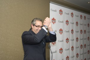 Canadian Soccer Association general secretary Peter Montopoli says Canada will next play on home soil in 2016 (Photo Courtesy of Canada Soccer)