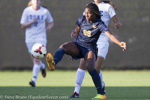 Kadeisha Buchanan and the West Virginia Mountaineers are the Big 12 champions for 2016 (Copyright, Steve Bruno, Equalizer Soccer)